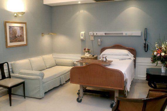 Así son las habitaciones del Sanatorio Otamendi donde internaron a Mauricio Macri.