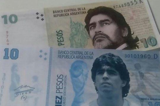 sandleris llego al cargo que le permitira cumplir su deseo: que el billete de $10 lleve la cara de maradona