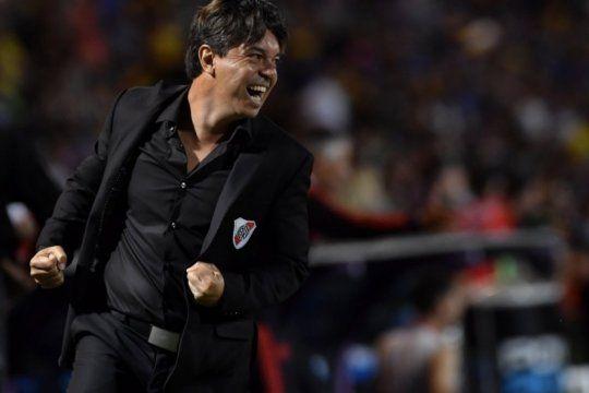 gallardo y river, la combinacion que domina a los grandes del futbol argentino