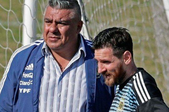 La buena relación de Tapia con Messi es una de las cartas de los 4 años de gestión de Chiqui.