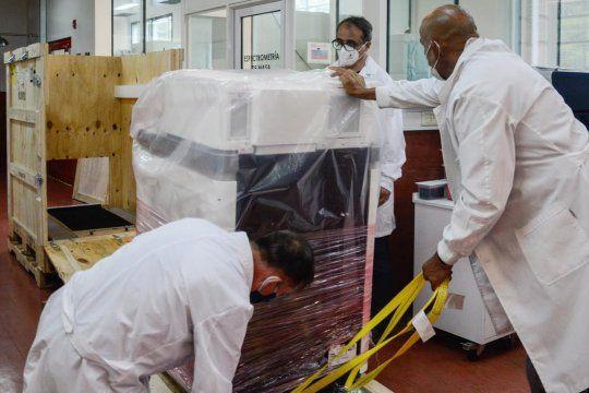 La máquina para detectar si hay mutaciones de coronavirus