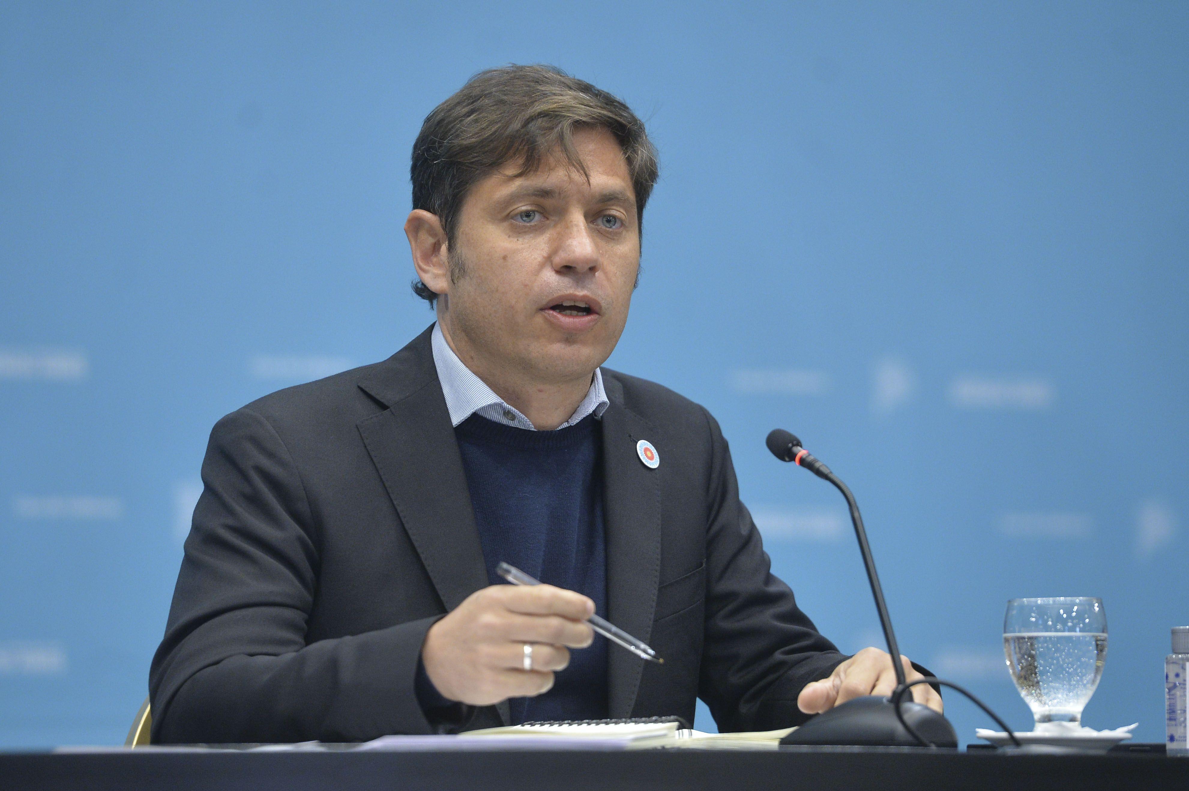 Axel Kicillof criticó la gestión económica de Macri y Vidal