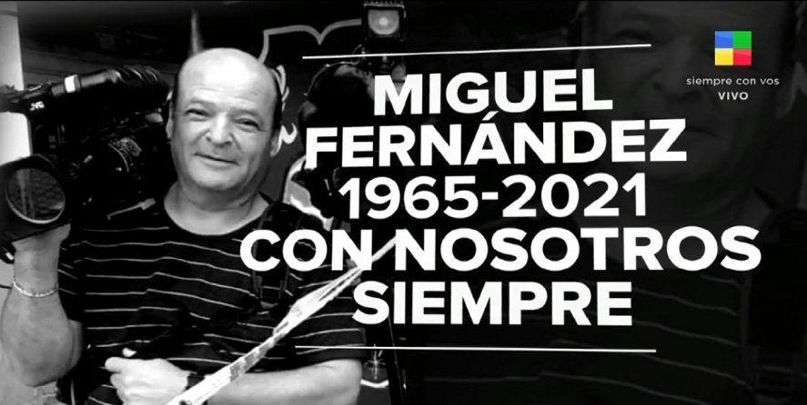 Falleció un histórico camarógrafo de América por Covid