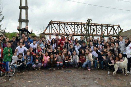 proyecto solidario: jovenes universitarios realizaran un nuevo ?manos a la obra? en altos de san lorenzo