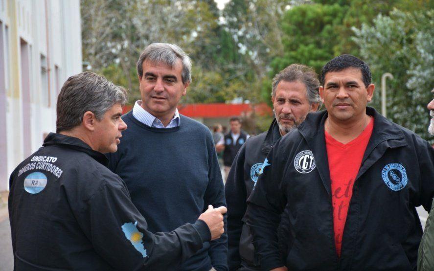 De recorrida por el interior bonaerense, Durañona mantuvo reuniones con dirigentes gremiales y sindicales