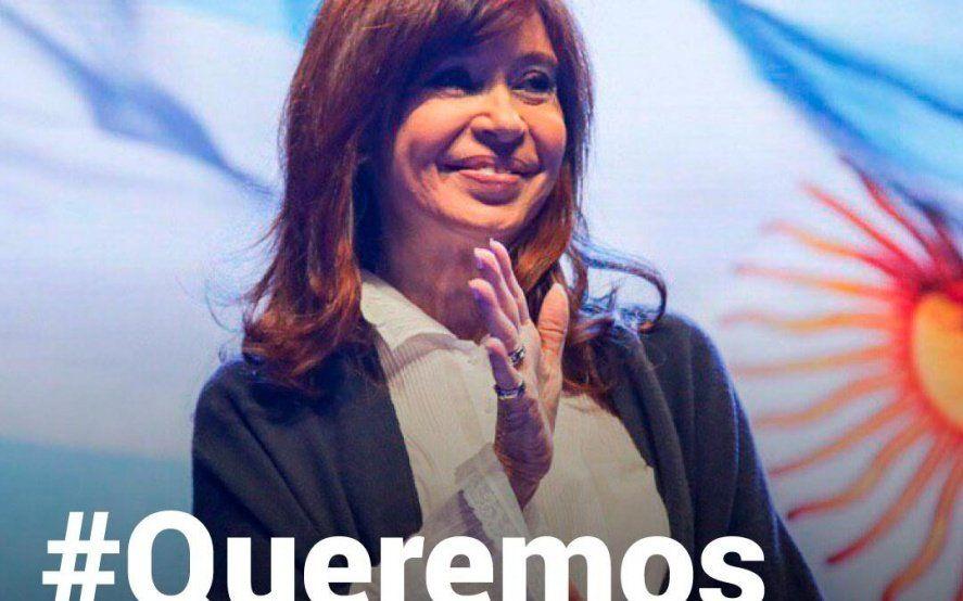#QueremosVerACristina, la campaña en apoyo a CFK que se volvió tendencia en las redes sociales