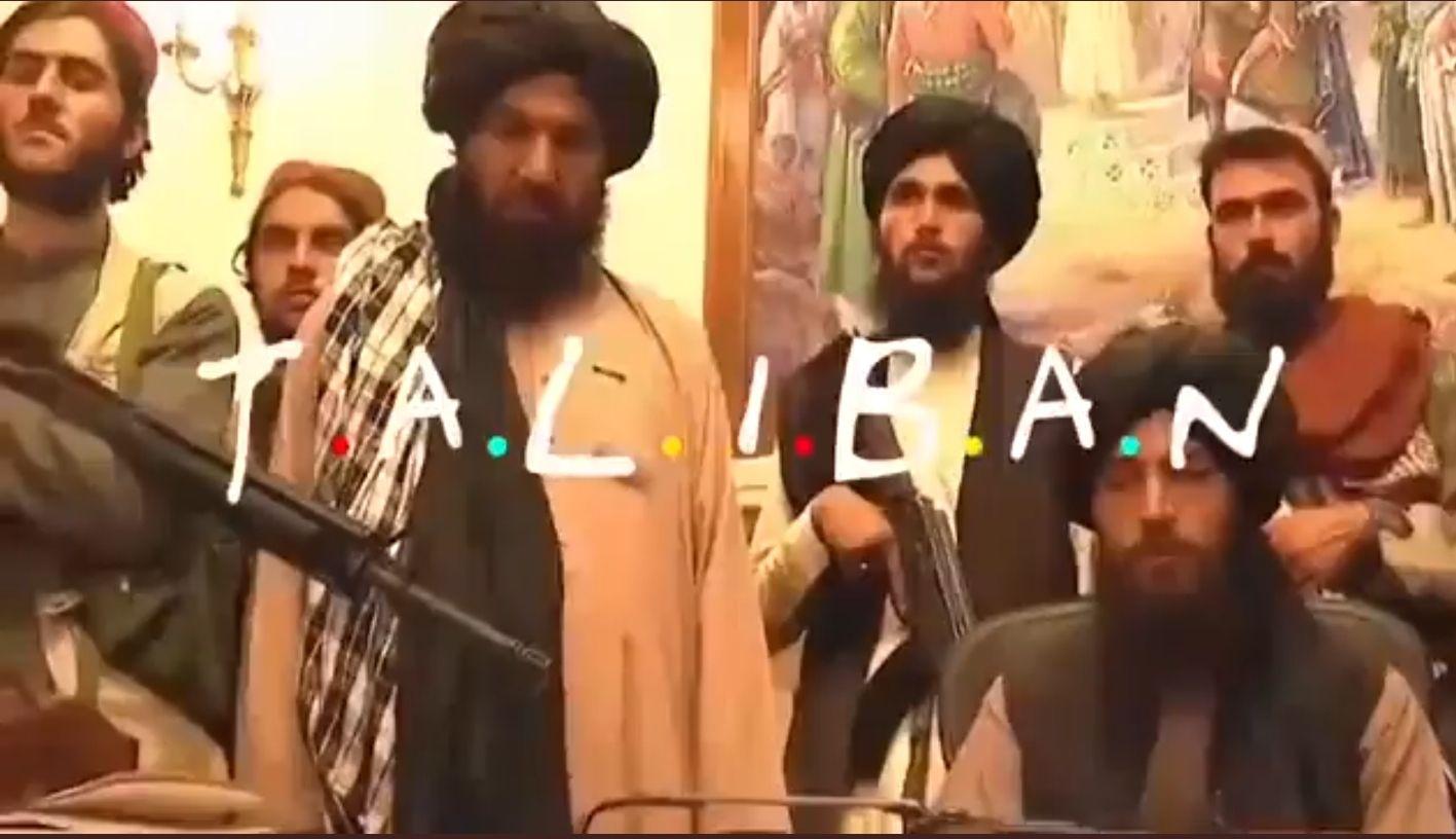 la polemica version de friends taliban que ofende y causa gracia