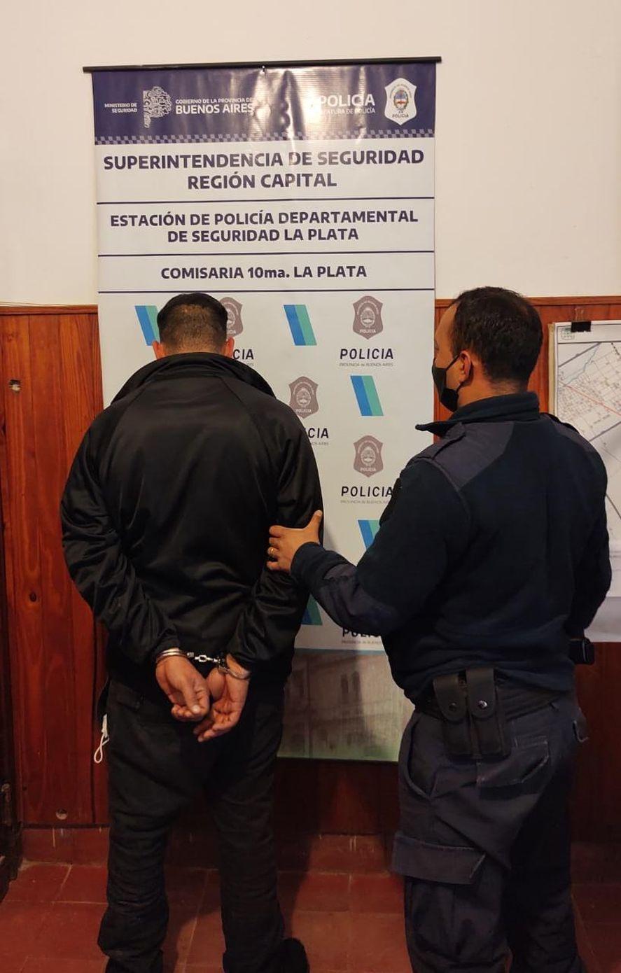 El hombre detenido por violar una perimetral en City Bell