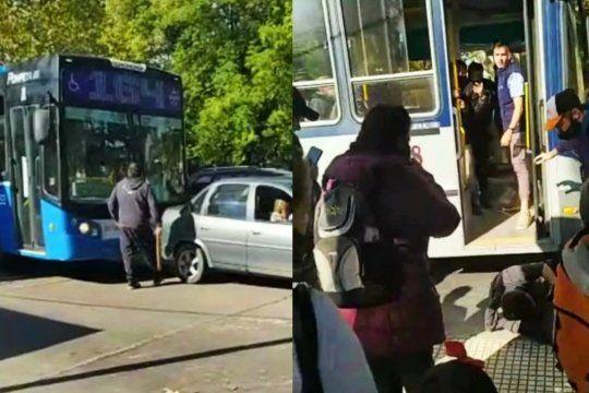 El incidente fue en el barrio Santa Lucía de Monte Grande