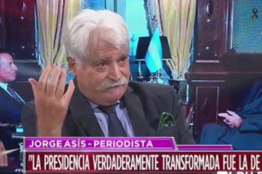 El elogio a CFK, la critica a la Jisticia, a los Medios y al macrismo, por los presos peronistas, de Jorge Asís anoche en Intratables