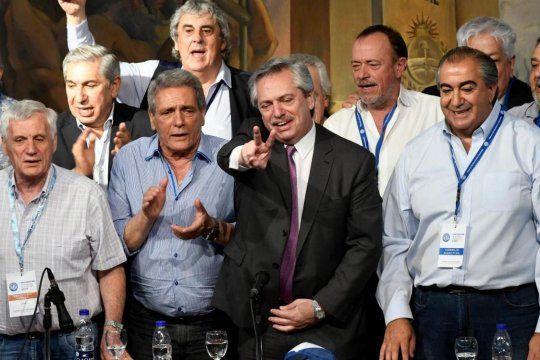 La CGT y los gobernadores peronistas quieren a Alberto Fernández como presidente del PJ.