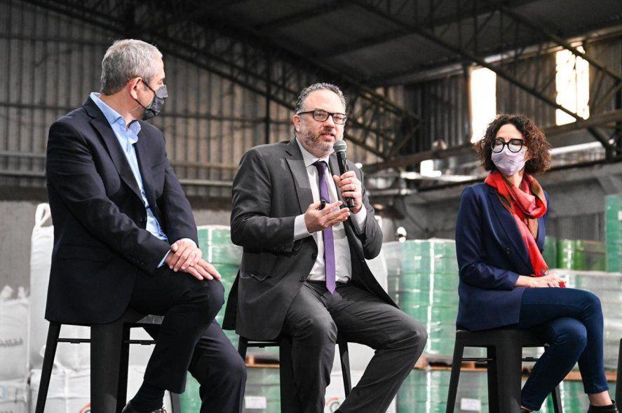 Kulfas destacó la política de Desarrollo Productivo Verde
