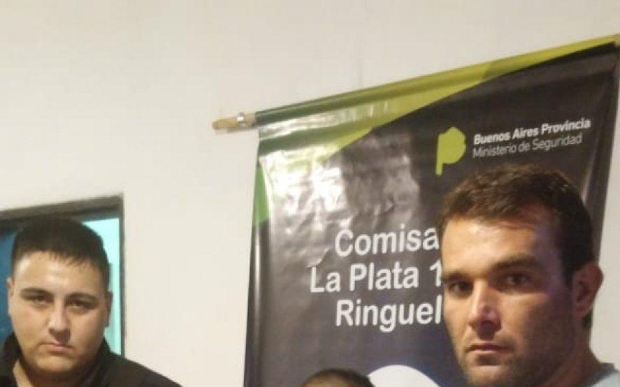 La Plata: mirá cómo fue el robo en una distribuidora de fiambre en la que tomaron de rehén a un cliente
