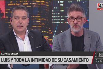 Luis Novaresio cambió en 24 horas su opinión sobre la incidencia del gobierno de Cristina Fernández de Kirchner en la sanción del matrimonio igualitario. ¿Le impactó su casamiento?