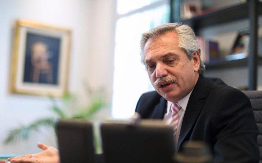 """Fernández pidió a la oposición """"terminar con este tiempo de odio"""""""