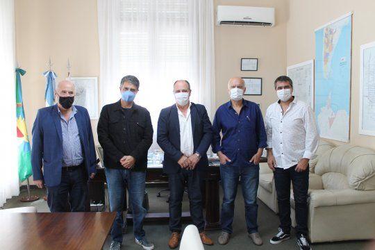 con criticas al oficialismo, jorge macri y nestor grindetti re reunieron con el intendente de brandsen