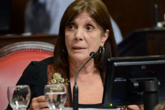 teresa garcia advirtio que el gobierno de vidal sigue sin informar el gasto de 2018