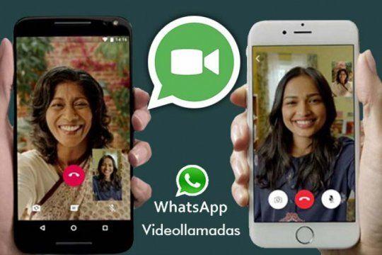 ya se pueden hacer videollamadas por whatsapp con hasta 50 personas
