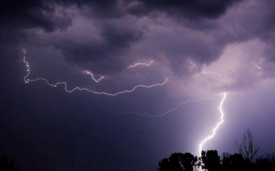 Alerta meteorológico en la Provincia: tormentas fuertes, con posible caída de granizo y actividad eléctrica