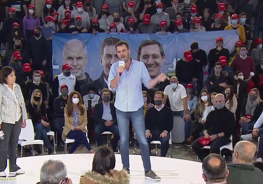 Elecciones: exabrupto contra Alberto Fernández de un candidato de Elisa Carrió