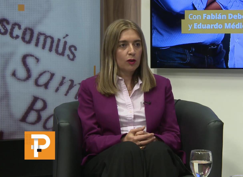 Danya Tavela bancó la elección de Facundo Manes