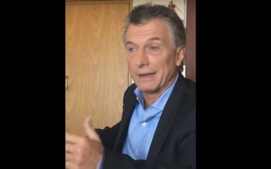 """Así fue el video con el que Macri anunció el """"plan alivio""""... hasta octubre"""