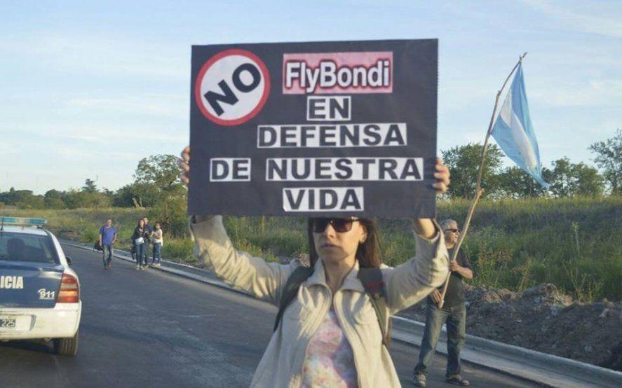 Foto: Stop FlyBondi - Paremos Fly Bondi