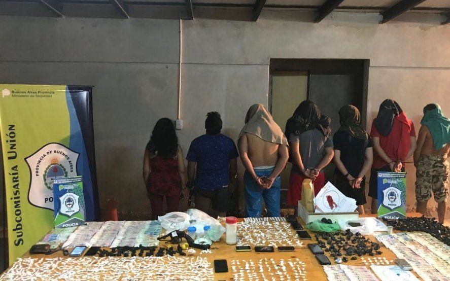 La Policía derribará tres búnkeres narco en La Plata: hay siete detenidos