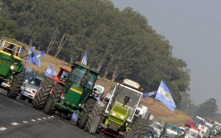 La Mesa de Enlace convocó a un paro de cuatro días contra la suba de retenciones a la soja