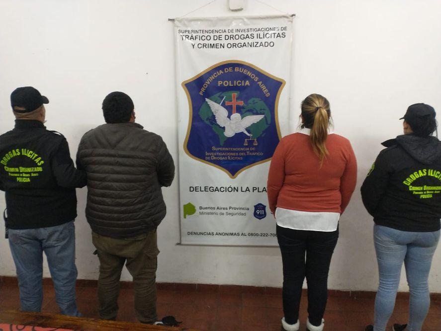 Berisso: dos detenidos por vender drogas desde el hogar