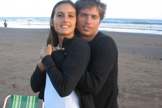 Kicillof junto a su compañera, Soledad Quereilhac, en una de las fotos que posteó en Instagram.