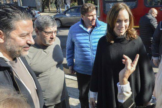 en plena rebelion de intendentes peronistas, menendez se mostro con vidal en merlo