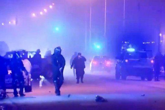 En un reclamo por la picada mortal hubo represión policial
