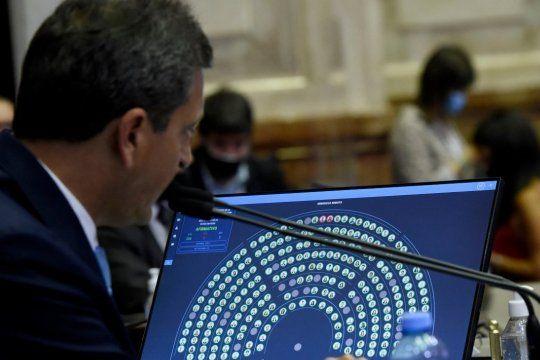 Sergio Massa presidió una nueva sesión en la Cámara de Diputados de la Nación