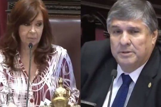 ?eso es de machista?: cristina kirchner corrigio al senador mayans cuando la llamo ?presidente?