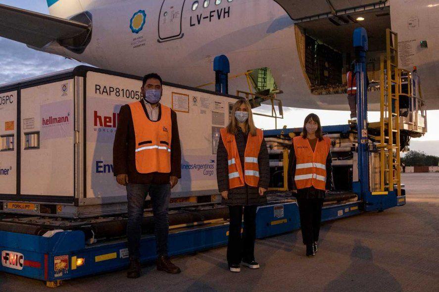 Parte el segundo vuelo de Aerolíneas con destino a China para traer más vacunas Sinopharm