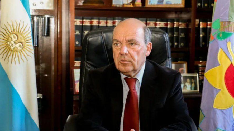 El intendente de Coronel Suárez