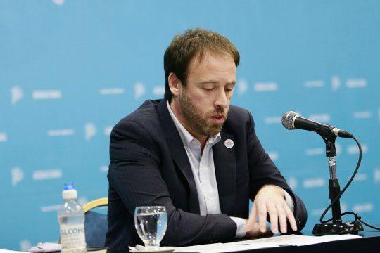 Pablo López es el Ministro de Hacienda de la provincia de Buenos Aires