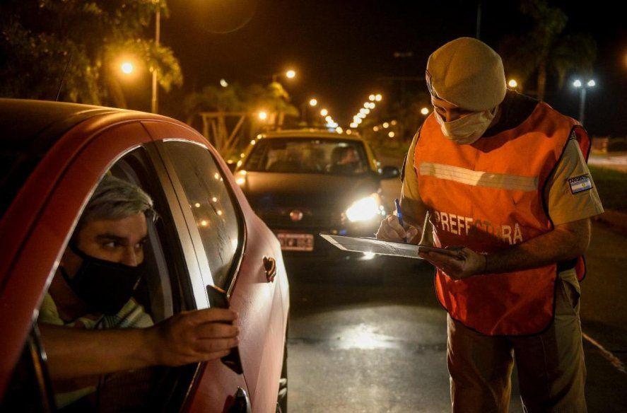 En los controles policiales se registraron a casi 50.000 personas
