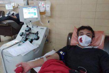 Más del 50% de las donaciones de plasma en la Provincia provienen de la ciudad de La Plata