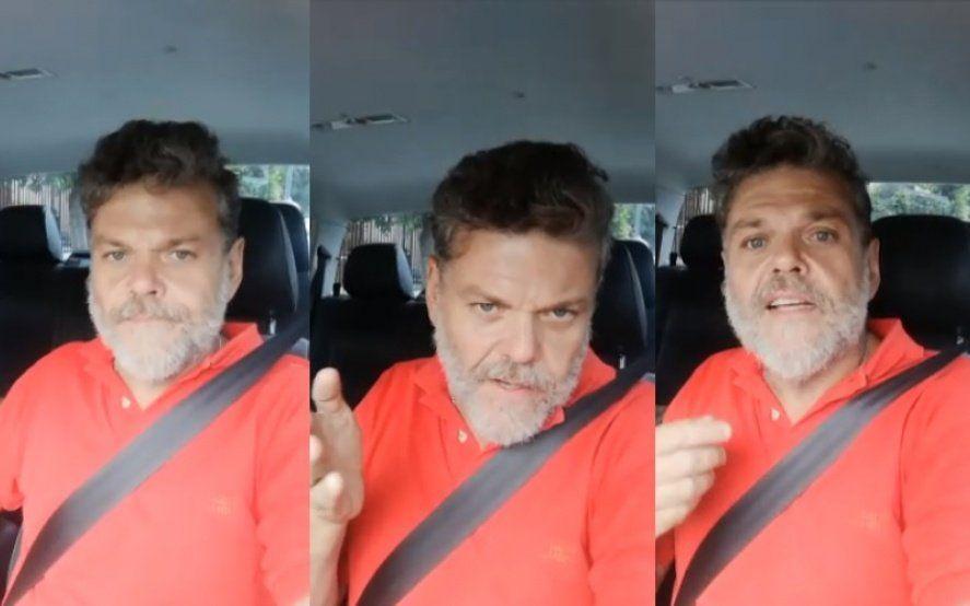 """Alfredo Casero cruzó a Brancatelli: """"Tenés guita y te vas a Miami porque laburás defendiendo chorros"""""""