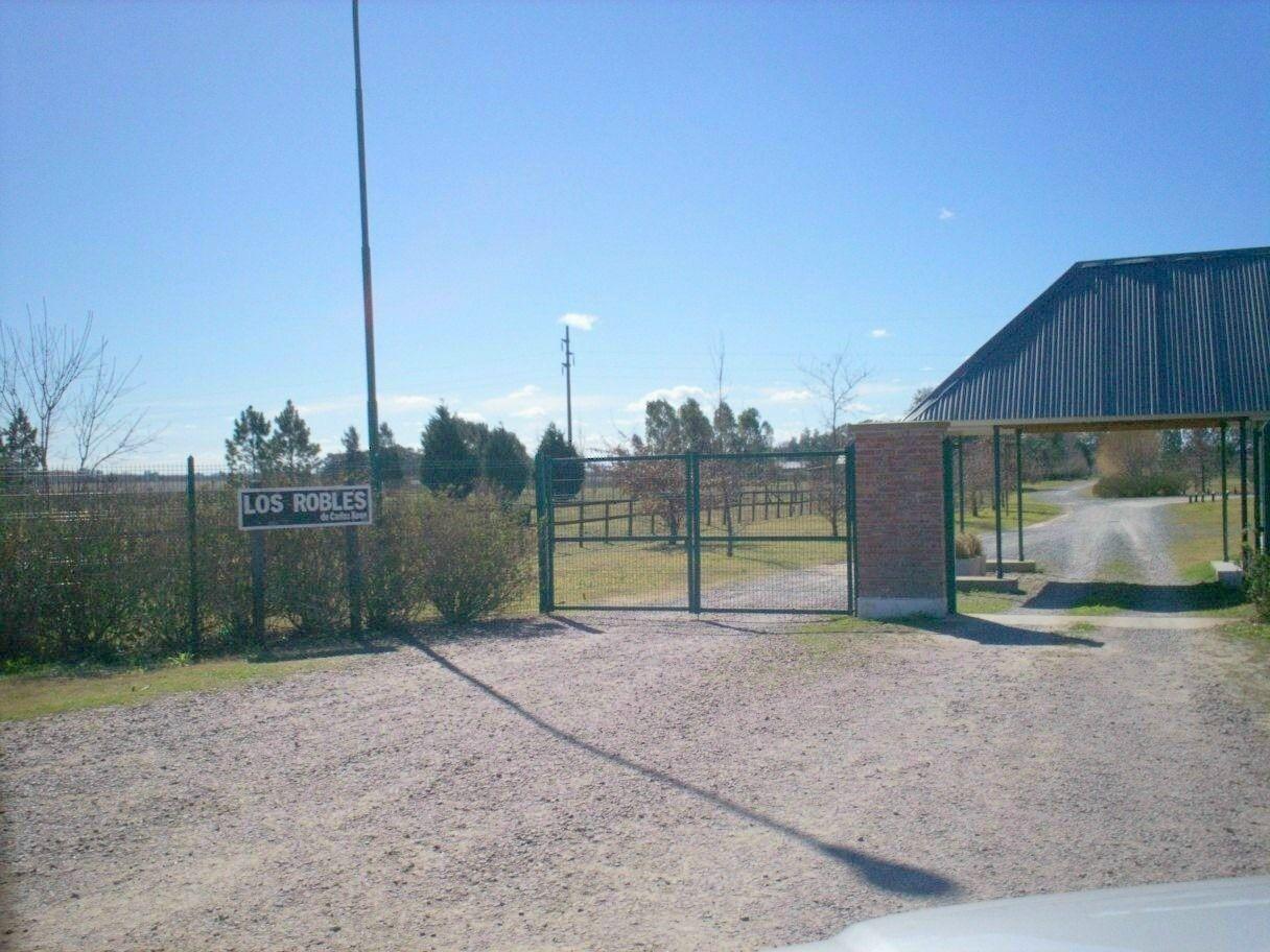 El robo fue en un country situado en la ruta 8 de Carlos Keen
