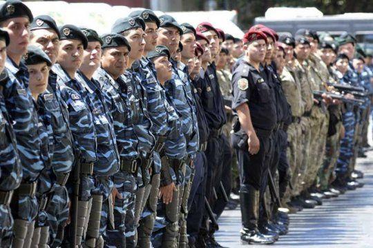 durante la gestion de vidal fueron detenidos 10 policias por semana por cometer delitos