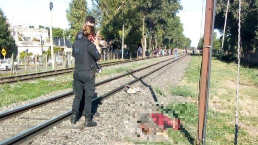 Femicidio en Boulogne: tiró a su pareja a las vías del tren