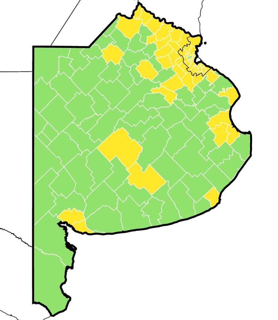 Manes ganó en la mayoría de los municipios y la UCR no se desinfla