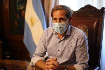 EL intendente de La Plata, Julio Garro