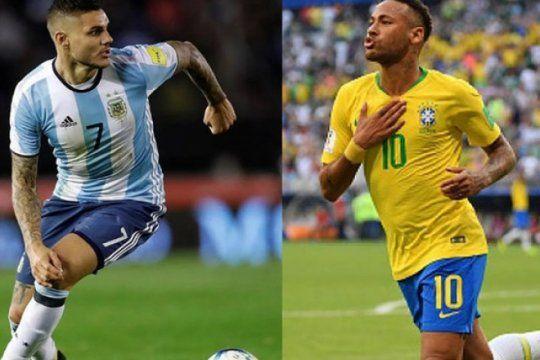 argentina ? brasil: el capitulo 100 sera con var incluido y, de haber empate, penales