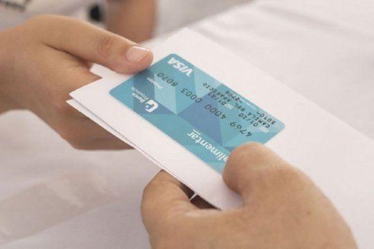 se adelanta la carga de la tarjeta alimentar y las acreditaciones seran semanales