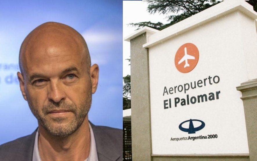 Mientras Dietrich vacaciona en Punta del Este, en EEUU investigan supuestas coimas en el aeropuerto de El Palomar