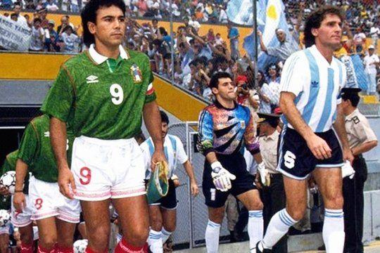 México jugó la Final de la Copa América de 1993 frente a Argentina.